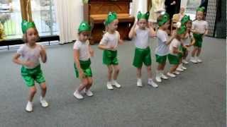 GRAZIE - Танец маленьких лягушат