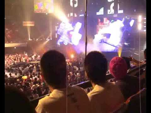 Dream 5 Shinya Aoki Entrance ! Baka Survivor song !