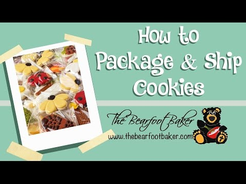 How to Package and Ship Cookies