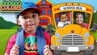 The Wheels On The Bus Song! (What Does Mommy Say On The Bus?)
