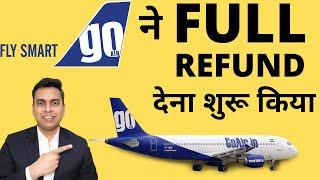 GO AIR FLIGHT TICKET FULL REFUND PROCESS   HOW TO APPLY FULL REFUND IN GO AIR   FULL REFUND   GO AIR