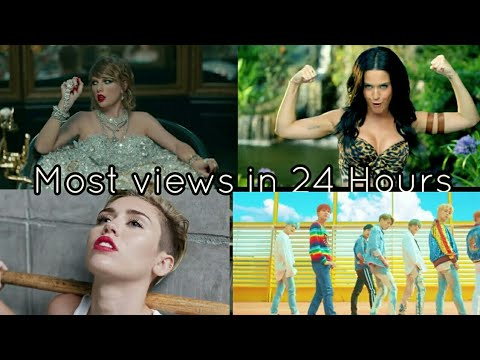 TOP 20 MOST VIEWED MUSIC VIDEOS IN FIRST 24 HOURS|UPDATED VERSION IN DESCRIPTION