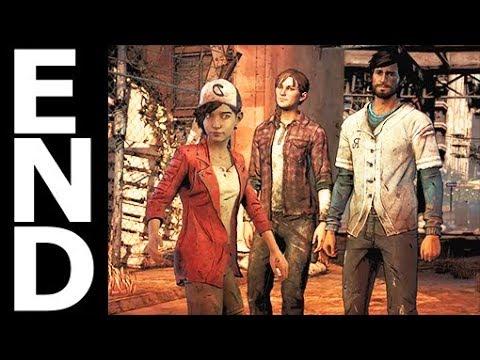 The Walking Dead: The Telltale Definitive Series Season 3 Episode 5 ENDING - Walkthrough Gameplay