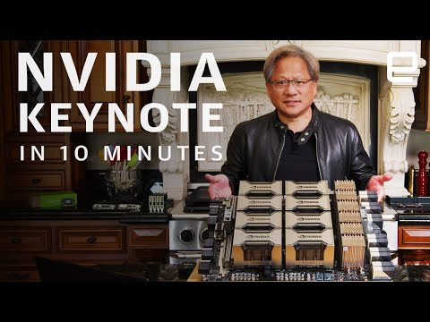 NVIDIA GTC 2020 Keynote in 10 minutes: Updated RTX and A100 GPU system