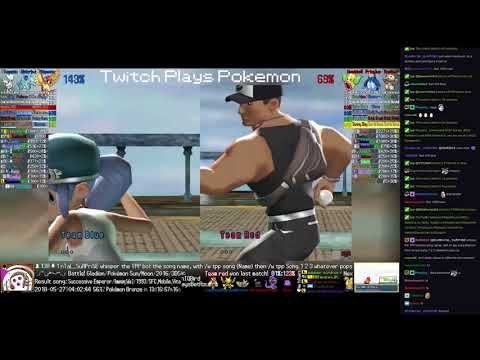 Twitch Plays Pokémon Battle Revolution - Matches #118062 and #118063