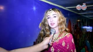 أخبار اليوم | هنا الزاهد بالزي الهندي في مهرجان الحياة ببورسعيد