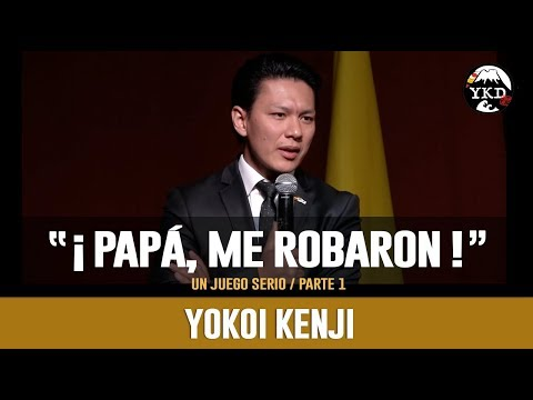 YOKOI KENJI 2018 | PAPÁ, ME ROBARON #1 | Especial para Docentes
