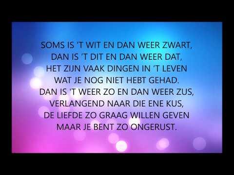 John West - Wit Zwart + lyrics
