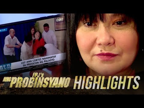 Lily makes a scene during Oscar's press conference | FPJ's Ang Probinsyano