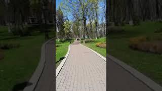 Весна в Мариинском парке в Киеве. #shorts