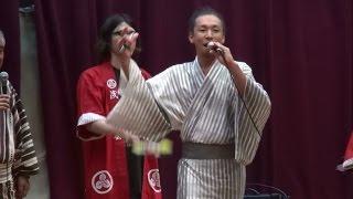 河内音頭 永田充康 上野口校区門真まつり 2014.08.09