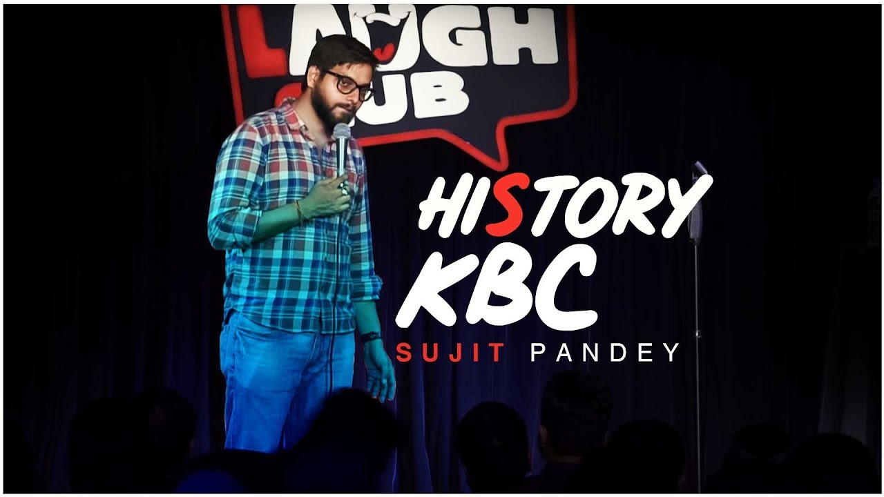 Indian StandUp Comedian ❖ Live comedy shows ❖ Canvas Laugh Club ❖Comedy shows in india ❖Sujit Pandey