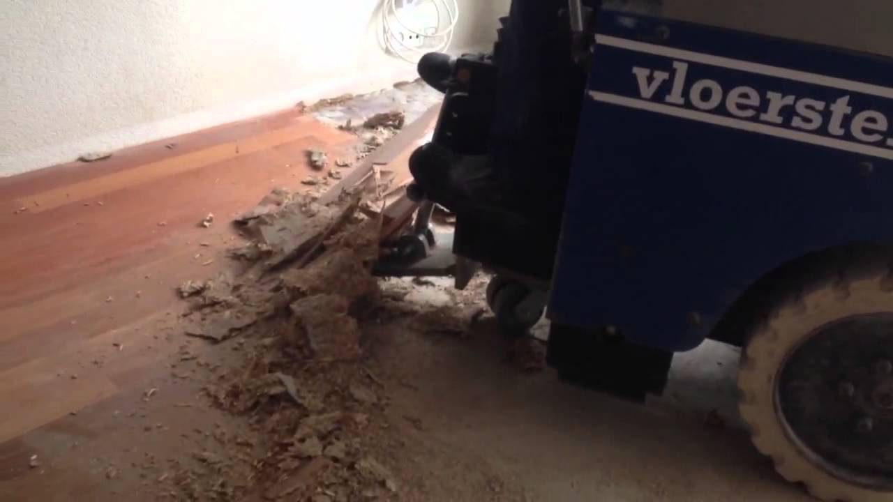 Ondervloer Eiken Vloer : Vloersterk verwijderen parketvloer en spaanplaat ondervloer