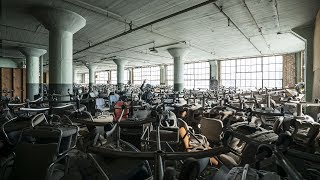 Abandoned Warehouse full of Thousands of Chairs