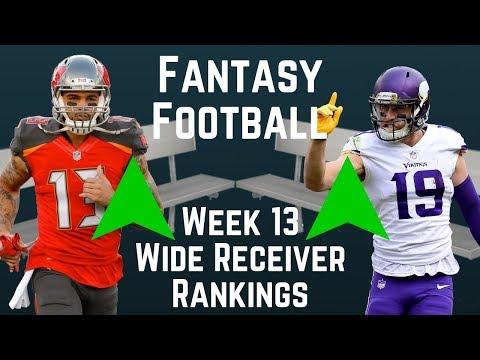 fantasy-football---week-13-wide-receiver-rankings