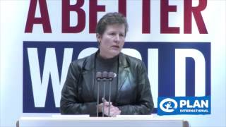 Moving the needle for Girls' Rights - Anne-Birgitte Albrectsen at Global Festival of Ideas 2017
