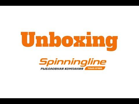 Распаковка небольшой посылки c воблерами и блеснами из интернет-магазина Spinningline