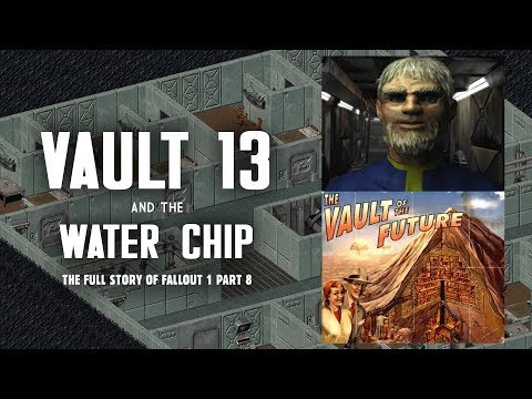 Vault 13 & the Water Chip - Saved at Last! For Now... - Fallout 1 Part 8
