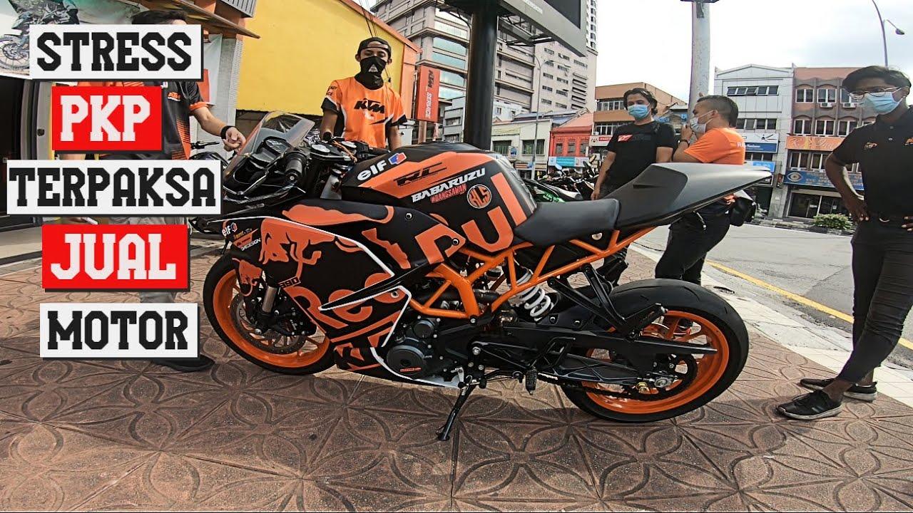 STRESS PKP JUAL MOTOR KTM RC 390