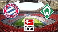 FC Bayern München vs Werder Bremen - 14.12.2019 ⚽ 15.Spieltag - Bundesliga 2019/2020 | PES 2020