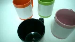 Чашки цветные с белым полем под печать. Печать на чашках. Харьков(, 2014-03-20T10:01:23.000Z)