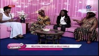 PAROLES DE FEMMES (RELATIONS TENDUES AVEC LA BELLE FAMILLE) EQUINOXE TV DU 06 FEVRIER 2018