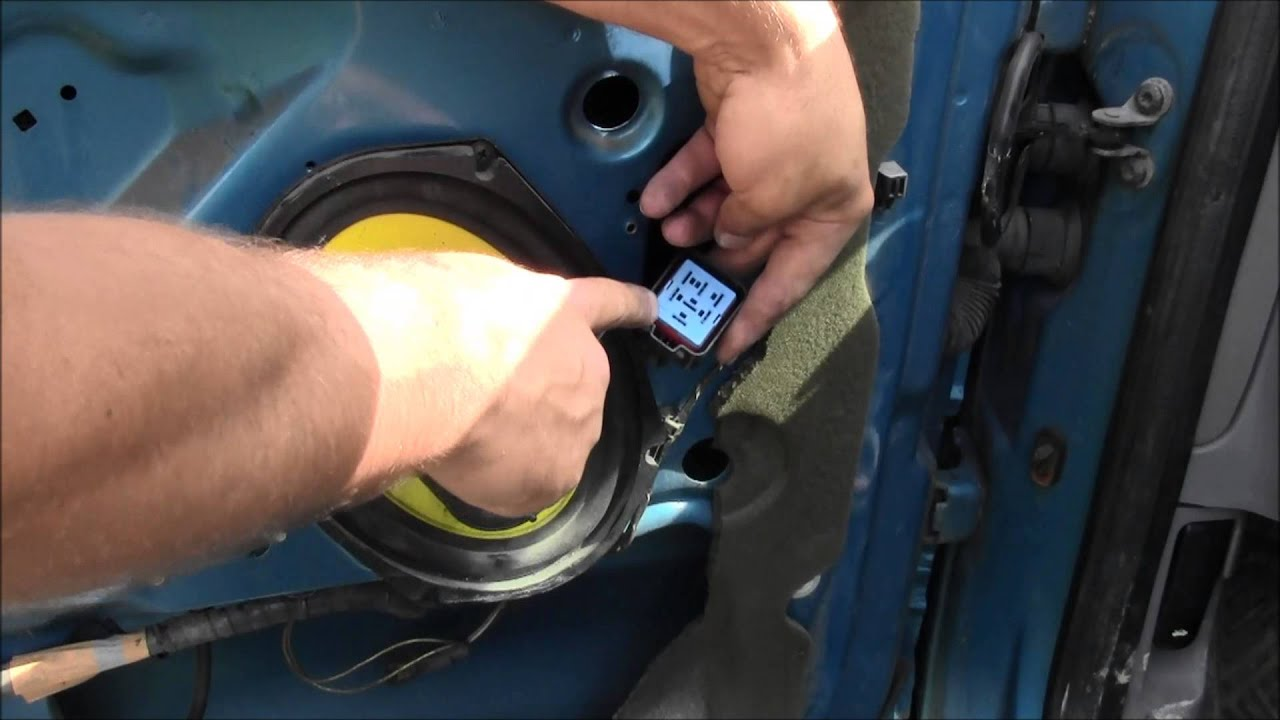 How To Remove Install One Touch Down Window Relay Youtube 90 Accord Driver Side Wiring Diagram