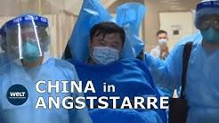 FURCHT VOR FLÄCHENBRAND: Coronavirus-Krise legt chinesische Großstädte lahm