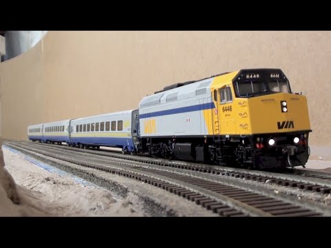 HO Overview & Layout Action - CN Stamford & Grimsby Subdivisions - Part 1