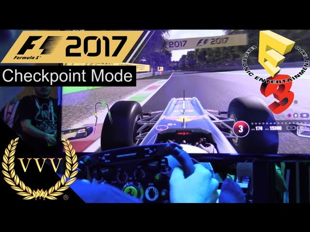 F1 2017 - Classic Cars, Checkpoint Mode