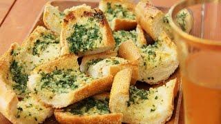 Чесночный багет с зеленью (BAGUETTE WITH GARLIC BUTTER)