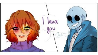 I love you【 Undertale Animation 】Undertale Comic dubs