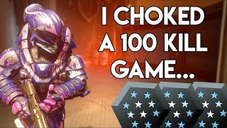 I choked a 100 kill game... Insane Infection Gameplay on Alpha Zombies Hellfire