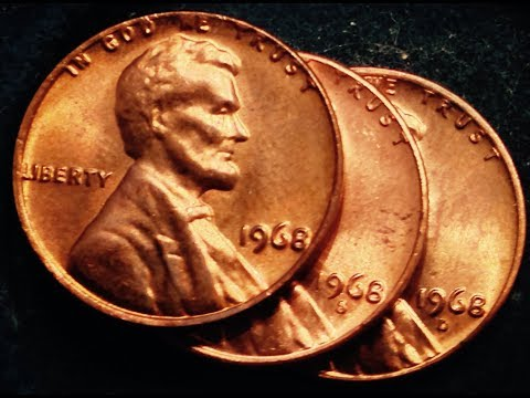1968 P USA Small Cent UNCIRCULATED