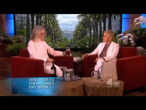 Diane Keaton tells Ellen she's a fan of rap