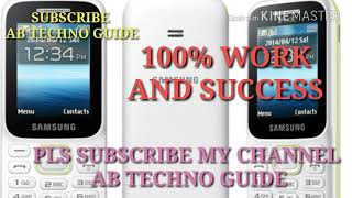 how to reset app code  lock of samsung guru music 2 keypad phone / B310e