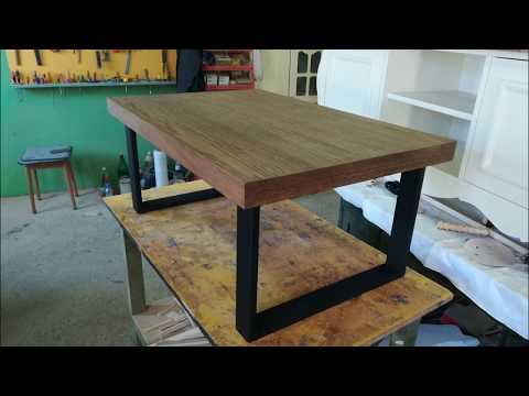 TABLE DIY - HOW TO MAKE MODERN INDUSTRIAL TABLE