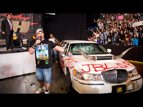 John Cena and Cryme Tyme give JBL's limo a makeover: Raw, July 7, 2008