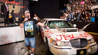 John Cena And Cryme Tyme Give Jbl 39 S Limo A Makeover Raw July 7 2008