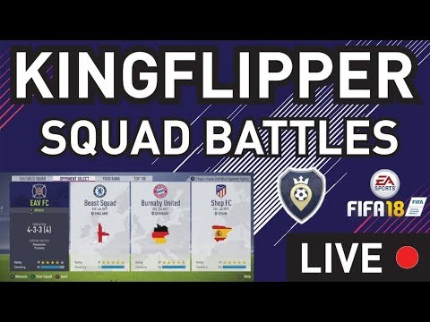 Fifa Squad battles Live - Aiming For Gold 3 Before Tonight - Fifa 18