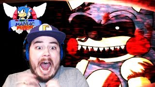 TOYMARE JUMPSCARED ME FROM THE VENTS!!   Five Nights at Sonic's: Maniac Mania (Part 3)