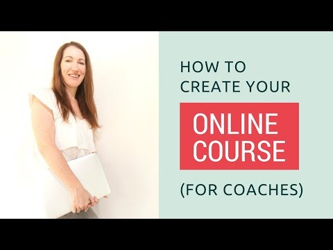 How to create your online course (for coaches)