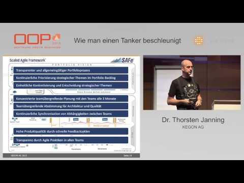 OOP 2015: Thorsten Janning - Wie man einen Tanker beschleunigt