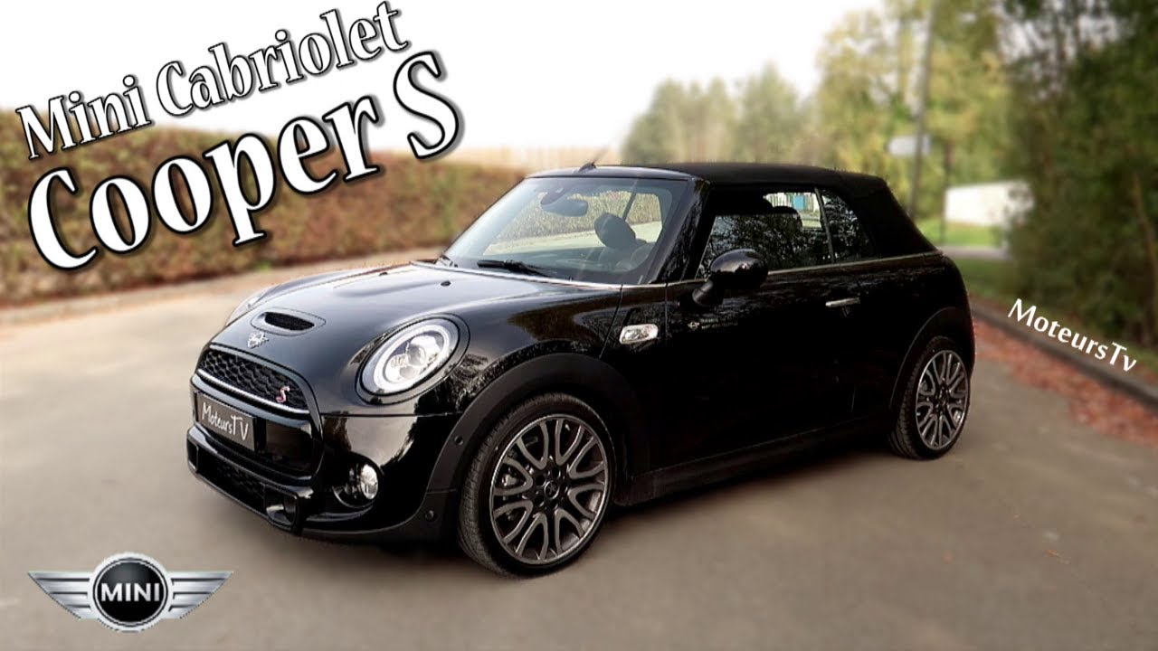 Mini Cooper S Cabriolet 2019 Essai Fr Youtube