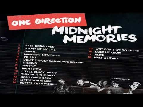 Descargar One Direction - Midnight Memories Full Album 2014