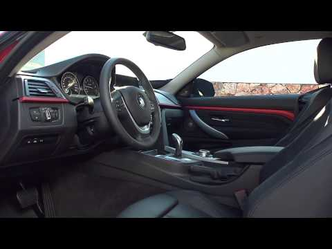 2014 BMW 4-series Coupe interior footage