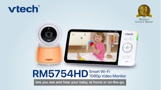 """RM5754HD 5"""" Wi-Fi Remote Access Video Baby Monitor with 1080p HD Display, Built-in night light"""