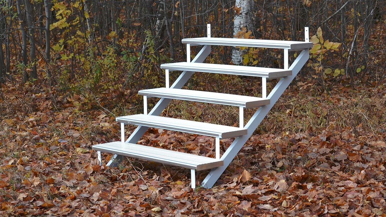 36 Quot Aluminum Step Installation Installation Marche En