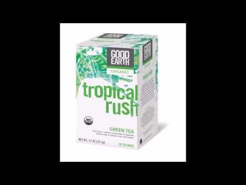 Good Earth Teas Organic Tropical Rush Green Tea