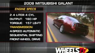 2008 Mitsubishi Galant Test Drive